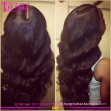 100% Virgin remy body wave brazilian human hair wig