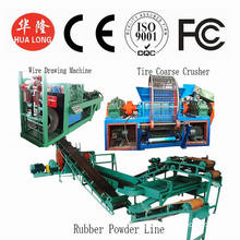 Tyre Recycle Granulator Machinery Waste Tire Granulator Machinery