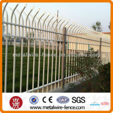 Powder Coated Decorative Iron Picket Fence