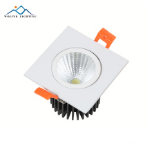 3w 6w 7w 9w 12w 15w 16w 24w 30w Embedded Round COB LED down light