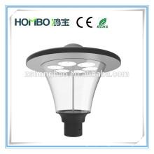 HomBo fábrica pedestre parque 30w 40W 60W impermeável IP66 LED jardim luz / solar LED jardim iluminação