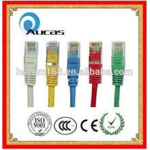 Cable de remiendo cat6 cat5e utp de Fluketest