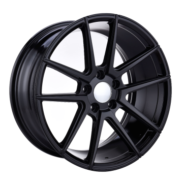 Custom Light Alloy Wheel Flat Черный