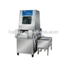 Brine injection machine for meat processing