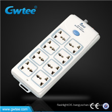 made in china cheaper 8 way universal switch and socket