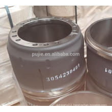 Hot Sale Heavy Duty Truck Brake Drums 3054230401