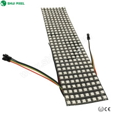Panel de matriz LED flexible ws2812b 8x32- 256 píxeles RGB LED