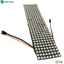Panel de matriz LED flexible ws2812b 8x32- 256 píxeles RGB LED