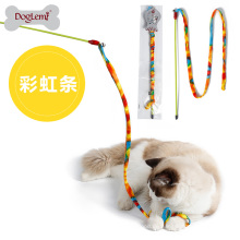 Doglemi Meistverkaufte Teaser Zubehör Mode Bunte Pet Spielzeug Für Katze