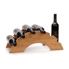 Wholesale estante de exhibición colgante del vidrio de vino