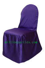 SATIN NORMAL CHAIR COVERS