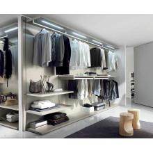 Swing Door Simple Design Massivholz Schlafzimmer Kleiderschrank