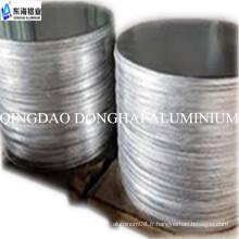 Dessin en profondeur en cercle en aluminium pour les ustensiles de cuisine