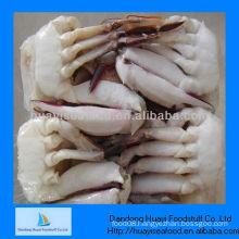 Frozen half cut crab cutting swimming crab