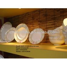porcelain Pakistan India stylish royal fine bone china set dinning