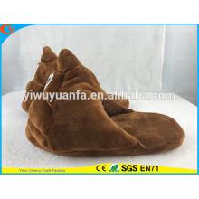 Высокий дизайн QualityNovelty какашки плюшевые смайлики туфелька без каблука