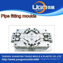 Fournisseur de moules en plastique pour raccords de tuyaux de taille standard moule en taizhou Chine