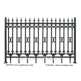 Decorative Euro Steel fence design made in China DK001