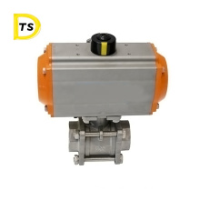 Good Quality Gas Stainless Pneumatic Threaded Ball Valve