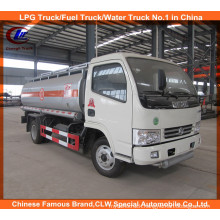 Dongfeng 6 Wheels Fuel Tank Trucks 5000L Oil Transport Truck