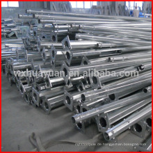Zinkbeschichtung Stahlpfosten