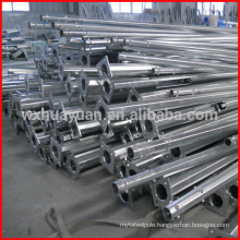 Zinc plating steel post