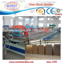 Puerta compuesta de madera del PVC Wpc que hace la máquina