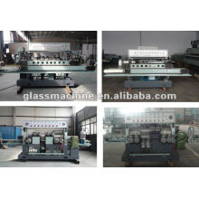 QJ877A-8-2 Glass Straight Line Edging Machine with 8 spindles