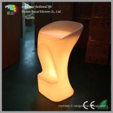 Mobilier illuminé LED