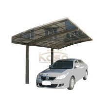 Классический автомобильный гараж Алюминиевая кровля Коммерческий прозрачный навес для машины