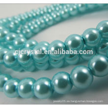 Perlas de vidrio perlas sueltas