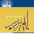 stainless steel tapping screw/ hexgan/flat/pan/square head bolt/hexgon socket head cap screw/ screw with washer