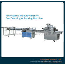Factory Price Automatic Counting Paper Glass Packing Machine