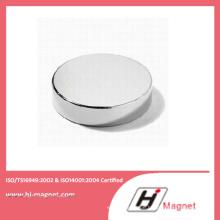 Qualitativ hochwertige Neodym Permanent Scheibenmagnet mit N35-N52