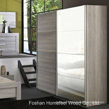 Bedroom Organised 2 Door Mirrored Sliding Wardrobe (WB69)