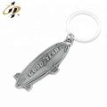 Porte-clés de logo sport personnalisé argent antique avec son propre design