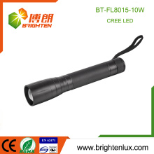 Factory Supply Beam Focus réglable 3C Taille Cell Heavy Duty Long Range 10W cree xml-2 High Power Flashlight Torch