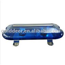 Barra de luz azul Mini ambulância aviso Lightbar
