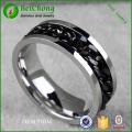 Bague en acier inoxydable de bijoux fantaisie accessoires chaîne