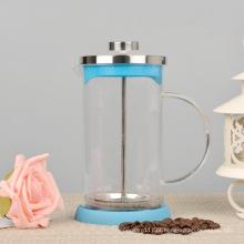 800ml de vidro de café resistente ao calor imprensa francesa