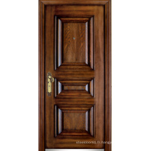 Porte blindée en bois d'acier de style turc (LTK-D323)