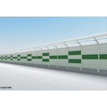 Barreira de som para construção de estradas