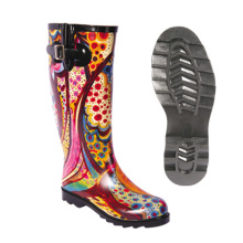 Super Purchasing for China Manufacturer of Kids Rubber Boot,Fireman Rubber Boot,Pvc Shoe Cover,Rain Shoe Cover Women Rain Rubber Boot with Adjustable Buckle supply to Malawi Wholesale