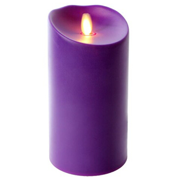 realistic light plastic Luminara Outdoor Pillar Candles