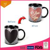 11oz Standard heat sensitive color changing mugs