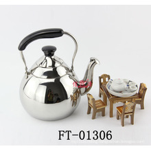 Stainless Steel Pear Shape Teapot (FT-01306)