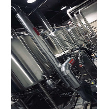 316L 1000L 3 Vessel Steam Heating Beer Brewhouse