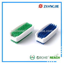 Directly Supply Durable Rotating Microfiber Plastic Nail Brush Set