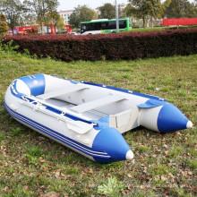 PVC-Aluminiumboden-aufblasbares Ruderboot