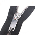 New Metal Teeth Silver Zipper para Jeans